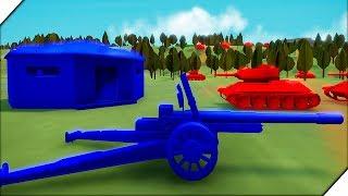 КРАСНАЯ АРМИЯ АТАКУЕТ - НЕМЕЦКАЯ КОМПАНИЯ # 1 - Игра Total Tank Simulator Demo 4. Экшен танки
