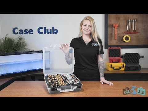Case Club Battery Organizer Case - Overview - Video