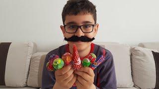 Şekerci Amca Buğra Bize Şeker Satmadı Berat Ağladı. Eğlenceli Çocuk Videosu