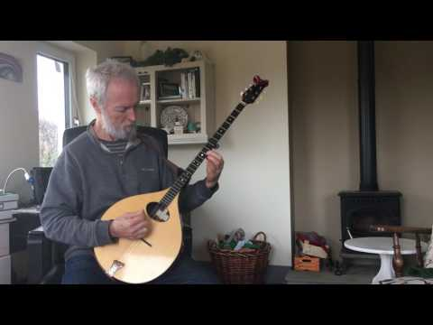 foreign lander- on an irish bouzouki in ireland