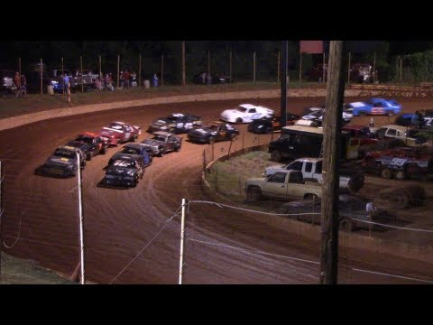 Winder Barrow Speedway Stock Four B's Feature Race 7/28/18