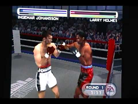 Knockout Kings 2001 Ingemar Johansson vs The Greats Part 1