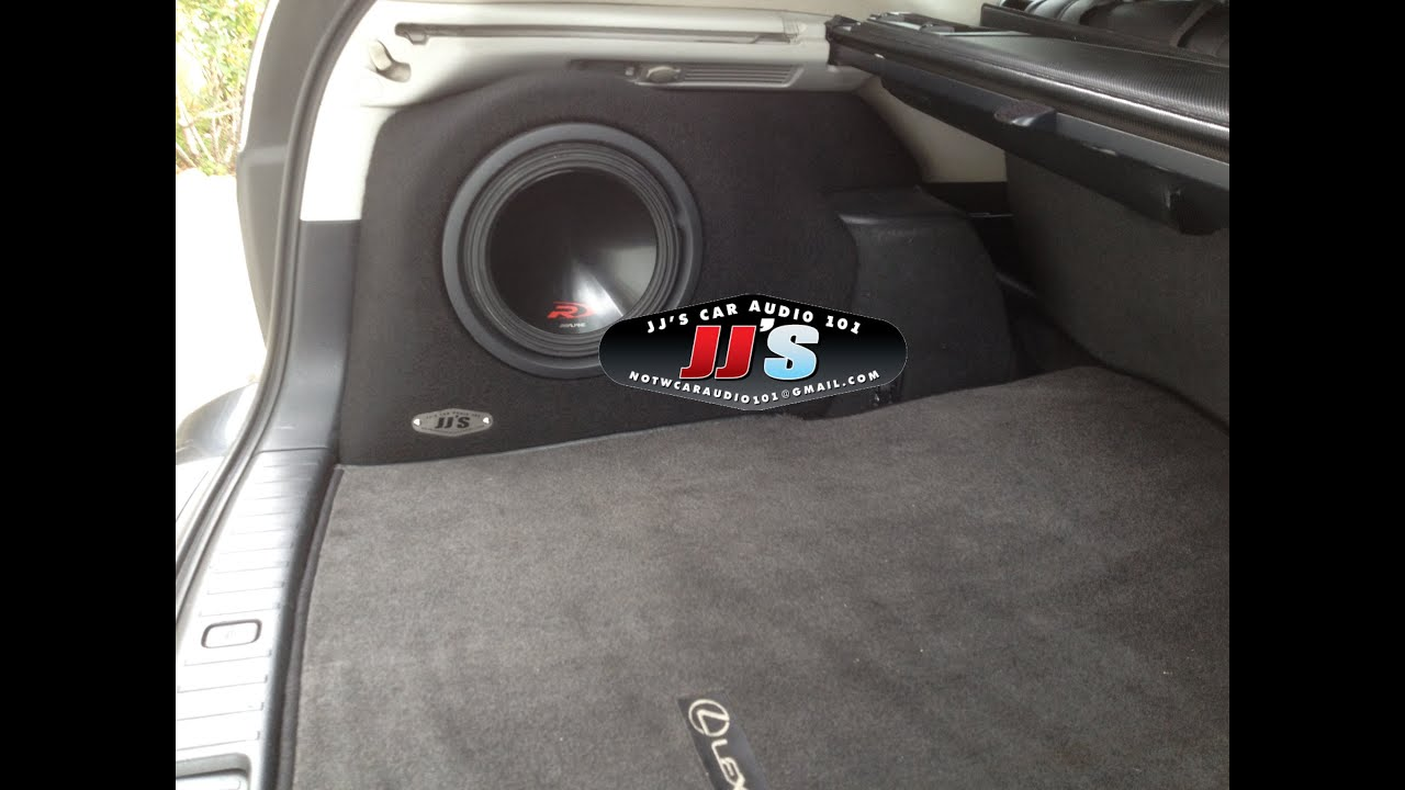 Lexus Rx330 350 400h Custom Sub Boxes For Sale On Ebay Or