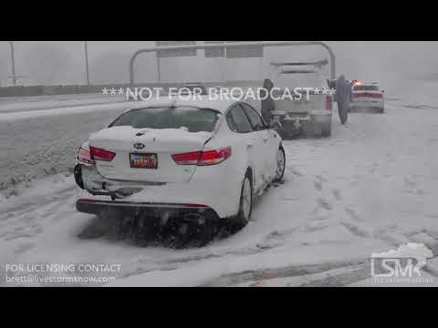 02-19-2018 Salt Lake City, UT - I-80 Closed Due to Accidents