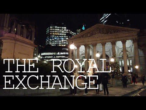 [4K LONDON WALKING TOUR] The Royal Exchange