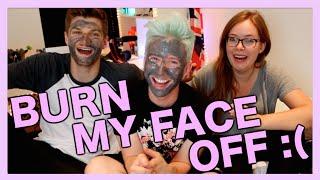Tanya Burned My Face Off :
