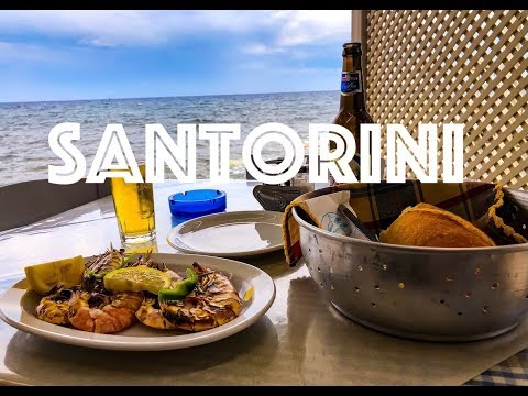 Greek Restaurant in Akrotiri Santorini Called The Dolphins