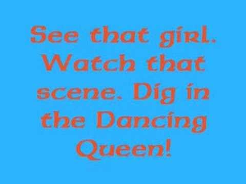 Dancing Queen w/ lyrics
