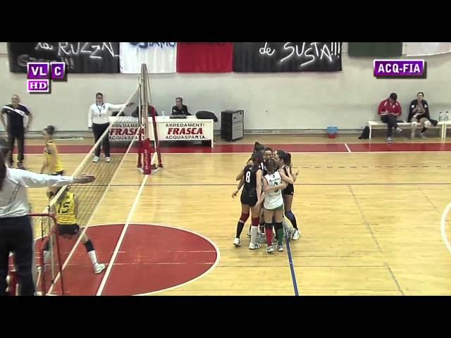 Acquasparta vs Vis Fiamenga - 3° Set