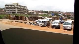 The city of Ibadan , Nigeria