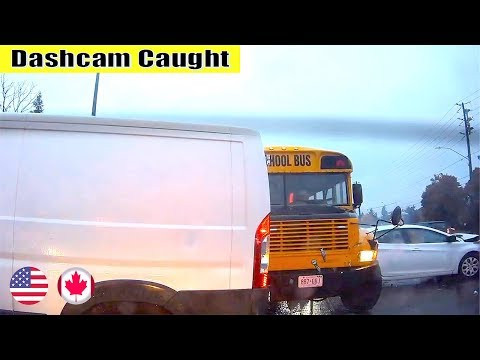Ultimate North American Cars Driving Fails Compilation - 112 [Dash Cam Caught Video]