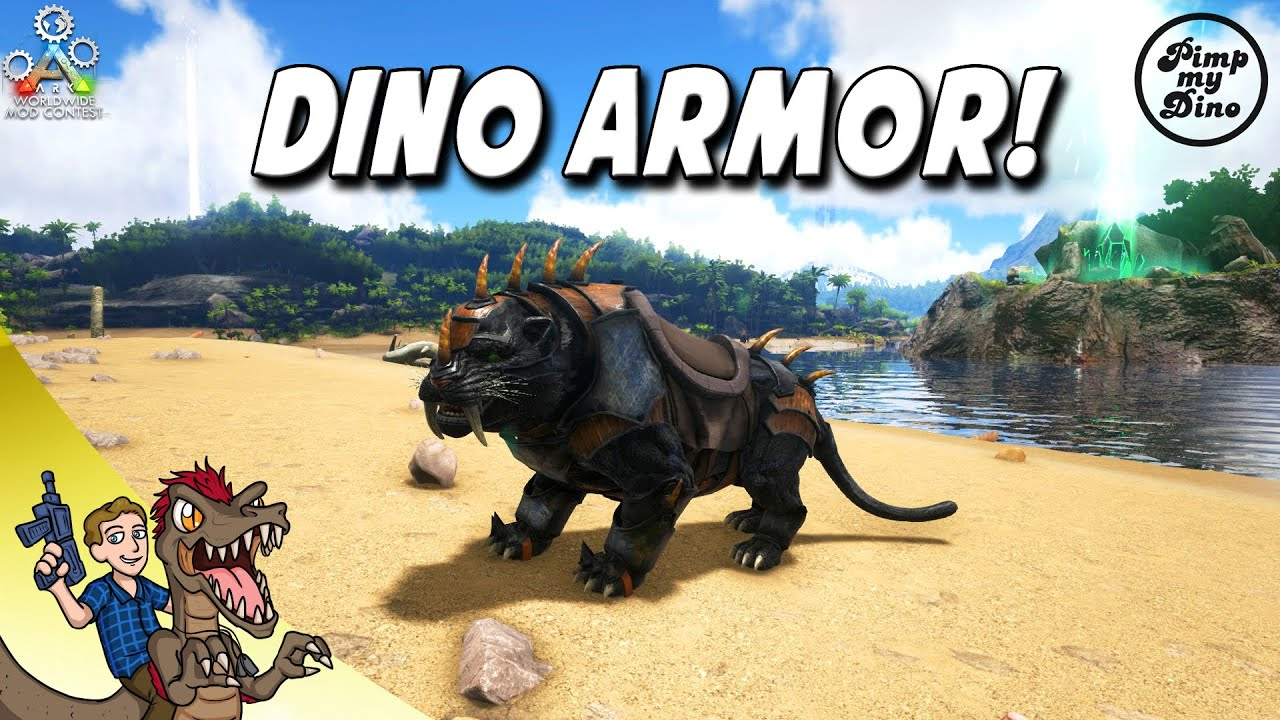 Pimp my dino mod spotlight new dino armorssaddles ark survival new dino armorssaddles ark survival evolved youtube malvernweather Gallery