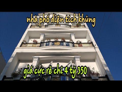 Bán nhà Quận 12 diện tích rộng giá rẻ. 1 trệt 3 lầu. DT: 6,5× 10. Giá 4 tỷ 350tr( thương lượng)