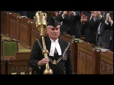 Emotional Sergeant-at-Arms Kevin Vickers back in House of Commons