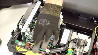 comment changer la carte de controle sur les tapis de course t500a et t520a