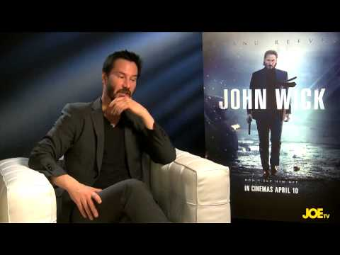 JOE meets Keanu Reeves to chat about John Wick and Father Ted