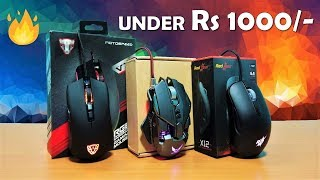 Best Gaming Mouse Under Rs 1000/ Only !! Redgear X12 Gaming Mouse With Avago Gaming Sensor [HINDI]