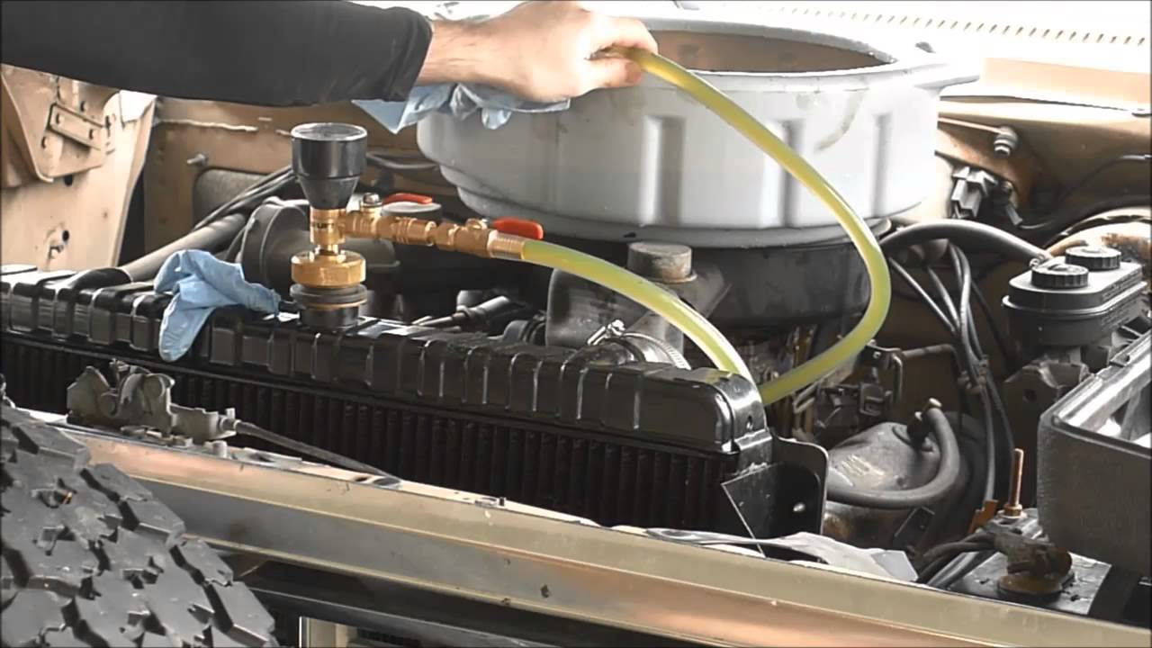 Automotive Tools- Airlift Coolant System Test/Refill