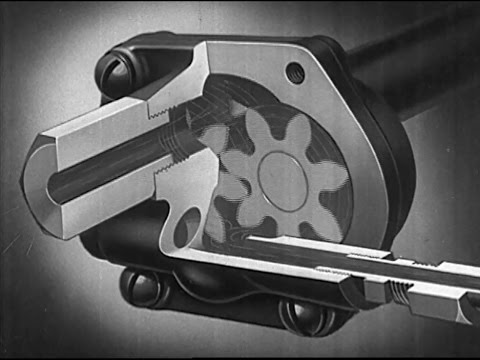 How engine oil protects - How the Engine Pressurized Lubrication System Works - 1937