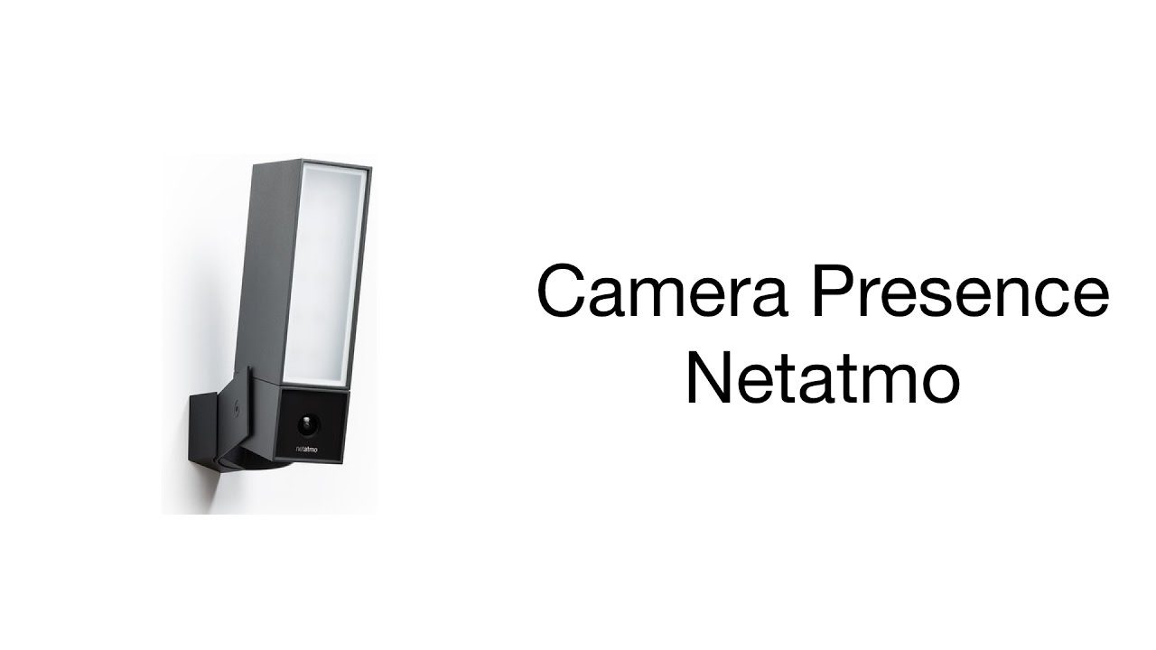 test presence de chez netatmo youtube. Black Bedroom Furniture Sets. Home Design Ideas