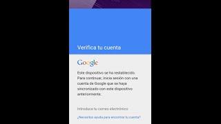 Bypass saltar Cuenta de google - Huawei Lua L03