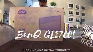 unboxing von Benq GL2760H