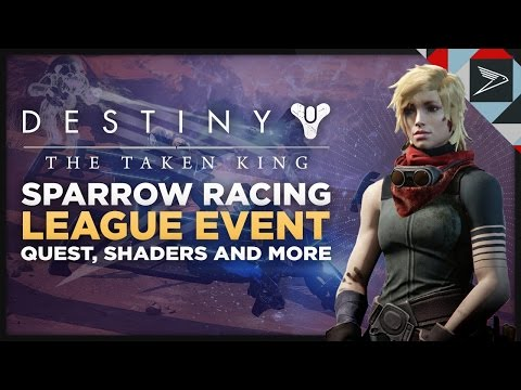 Destiny: Sparrow Racing League - New Event Quest, Bounties, Emblems, Shaders And Eververse Items