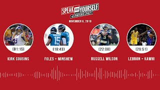 SPEAK FOR YOURSELF Audio Podcast (11.06.19)with Marcellus Wiley, Jason Whitlock | SPEAK FOR YOURSELF