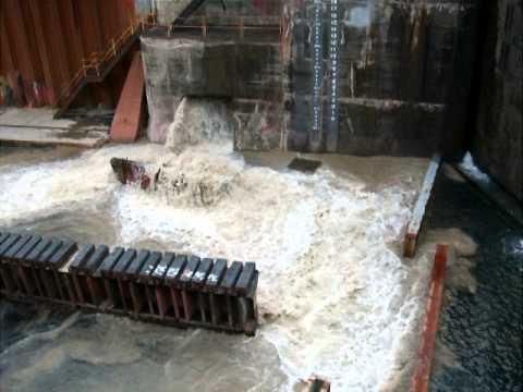 Drydock flooding