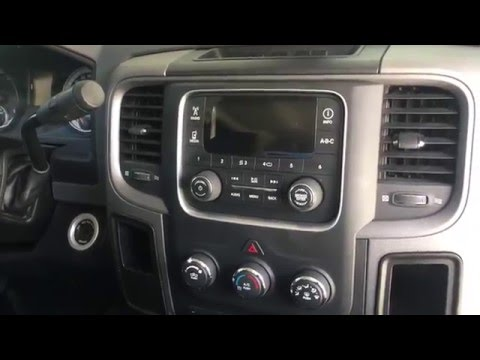 2013 dodge ram stereo removal amp install