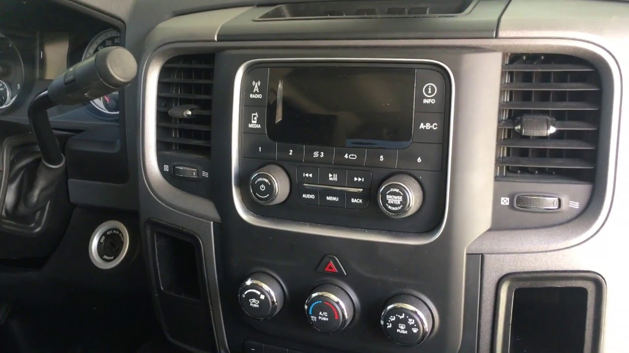 2013 dodge ram stereo removal amp install youtube. Black Bedroom Furniture Sets. Home Design Ideas