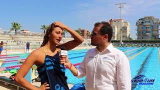 Simona Quadarella - Ritiro Ostia nazionale FIN-FINP
