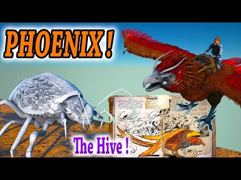 ARK PHOENIX DOSSIER & PREVIEW + HIVE PREVIEW AND MORE NEWS!! Ark Survival Evolved Update News