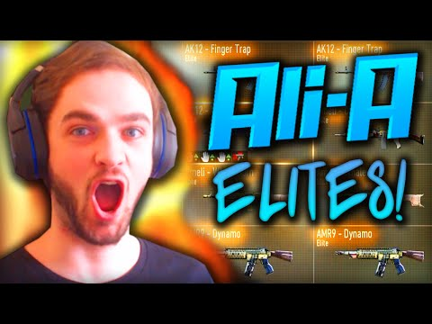 Ali-A ELITE GUN COLLECTION! - (COD Advanced Warfare)