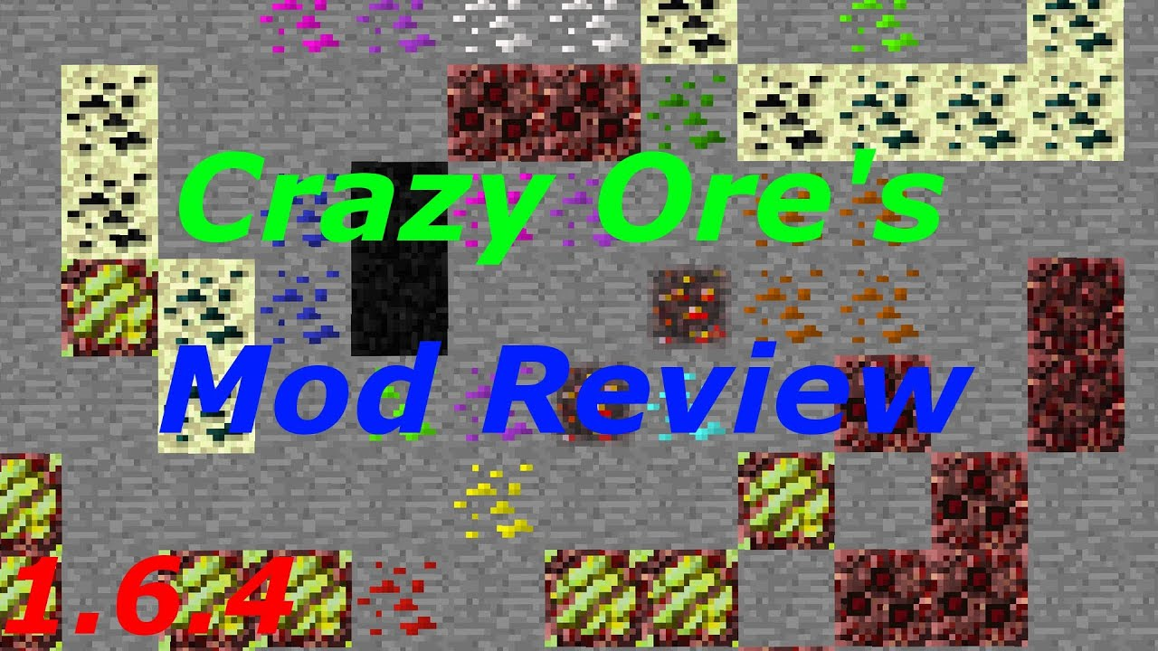 Minecraft: Crazy Ores Mod Review |1.6.4| (18 New Ores & 11 ...
