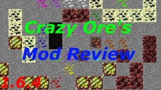 Minecraft: Crazy Ores Mod Review |1.6.4| (18 New Ores & 11 New Golems!)