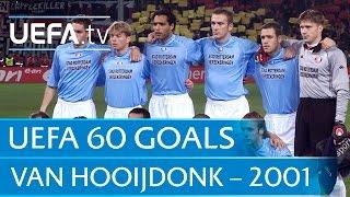 Pierre van Hooijdonk v Freiburg, 2001: 60 Great UEFA Goals