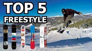 Top 5 Freestyle Snowboard Picks -  2018