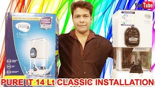 Pureit Classic 14 L Water Purifier Installation And Unboxing 2019 : Full Step By Step Video Guide