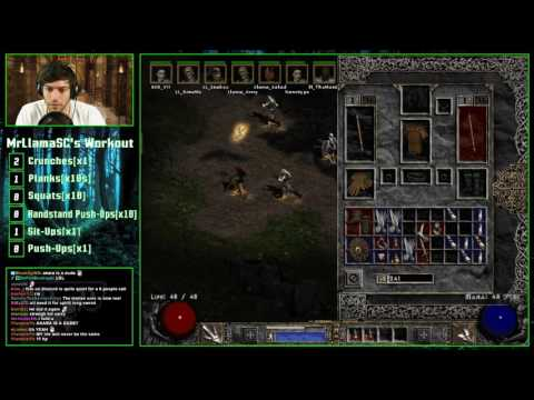 Diablo 2 - LADDER RESET!! 8 Man Hell Speedrun w/ viewers