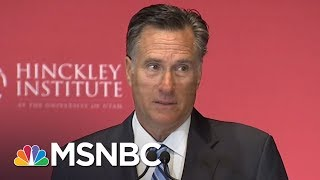 Meet The Midterms: Mitt Romney Launches Senate Campaign | MTP Daily | MSNBC