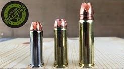 44 Magnum vs 454 Casull vs 500 S&W Magnum vs Pine Boards (Xtreme Penetrators)