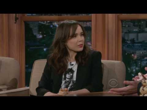 Ellen Page on Craig Ferguson 05282013 HQ