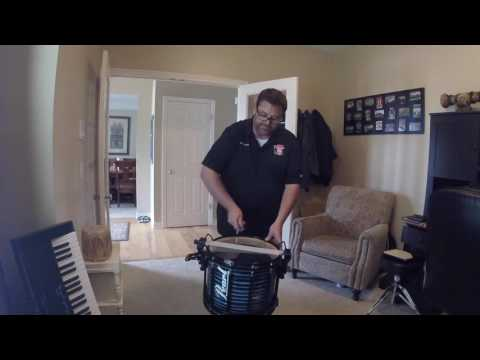Tuning your marching snare drum with Mark Reynolds