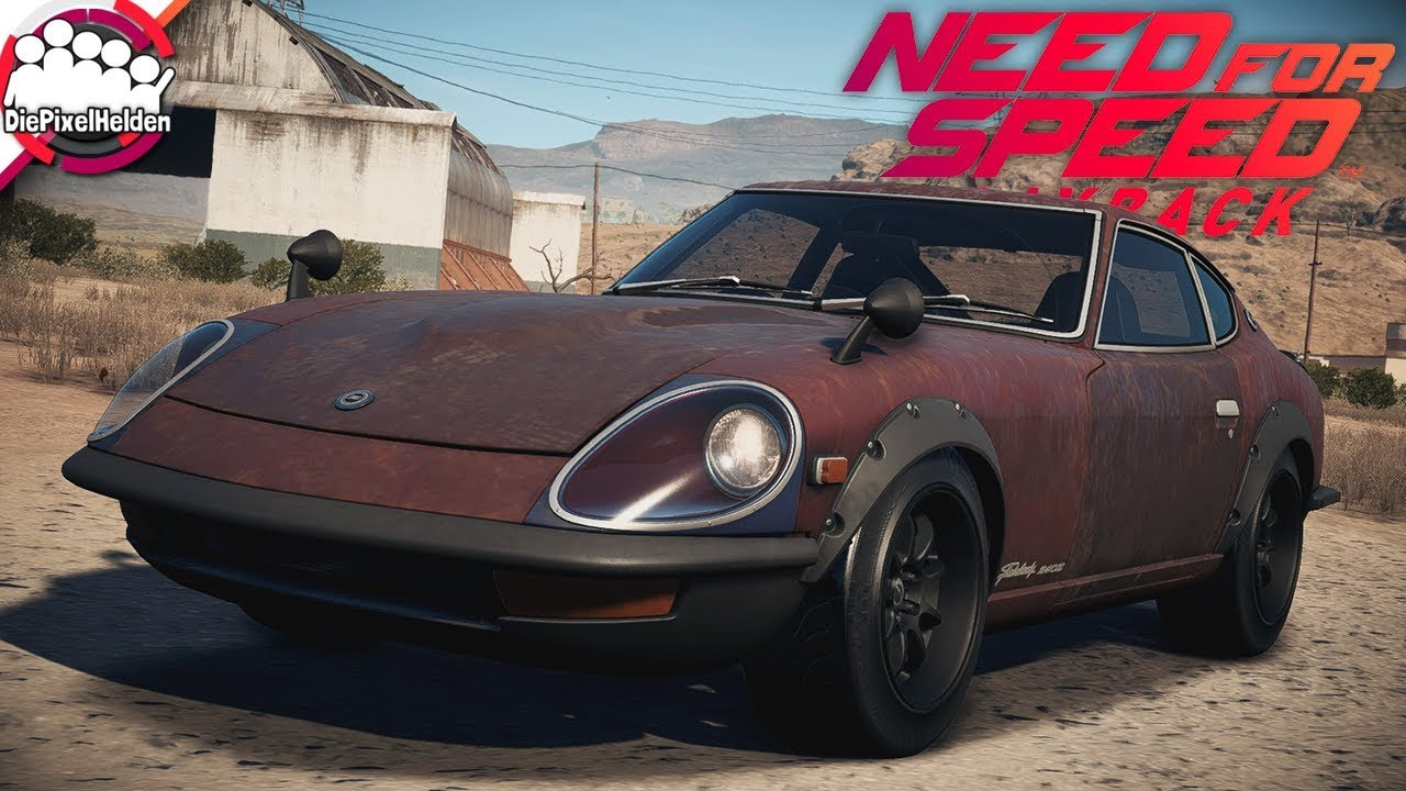 NEED FOR SPEED PAYBACK - Derelict/Wrack - Nissan 240Z ...