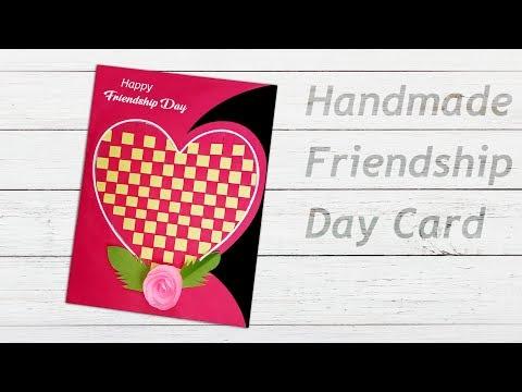 How To Make DIY Friendship Day Card at Home | Handmade card idea
