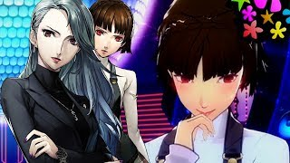 Persona 5 Dancing In Starlight When Joker Prefers Makoto Over Sae Then Again Sae....