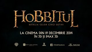 Hobbitul: Bătălia celor cinci oștiri (The Hobbit: The Battle of Five Armies) - Trailer F2 - 2014