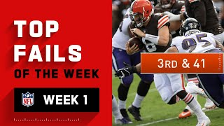 Top Fails of Week 1 | 2020 NFL Highlights