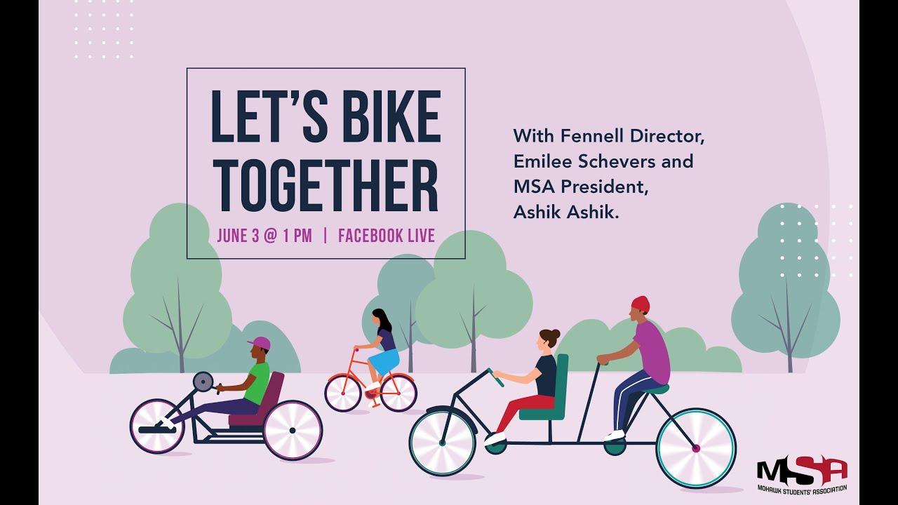 Let's Bike Together: Facebook Live